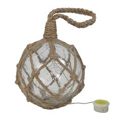 Click here to buy SONOMA Goods for Life Bubble Glass Light-Up Buoy Decor .