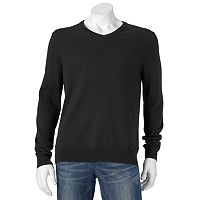 Big & Tall SONOMA Goods for Life™ Solid V-Neck Sweater