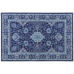 Mohawk® Home Cascade Heights Parquet Floral EverStrand Rug