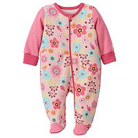Baby Girl Boppy Floral Sleep & Play