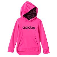 Toddler Girl adidas Droptail Fleece-Lined Pullover Hoodie