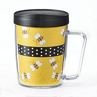 Signature Tumblers Monday Coffee Bees 18-oz. Insulated Coffee Mug