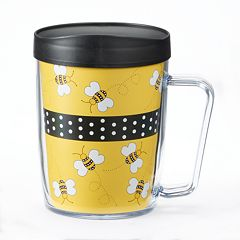 Signature Tumblers Monday Coffee Bees 18-oz. Insulated Coffee Mug