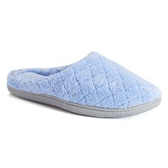 Women's Dearfoams Microfiber Terry Clog Slippers