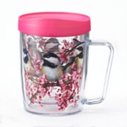 Signature Tumblers Monday Coffee Chickadees 18-oz. Insulated Coffee Mug