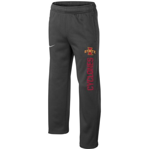 Boys 8-20 Nike Iowa State Cyclones Therma-FIT KO Pants
