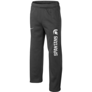 Boys 8-20 Nike Michigan State Spartans Therma-FIT KO Pants