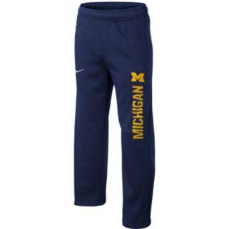 Boys 8-20 Nike Michigan Wolverines Therma-FIT KO Pants