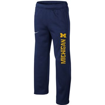 Boys 8-20 Nike Michigan Wolverines Therma-FIT KO Pants