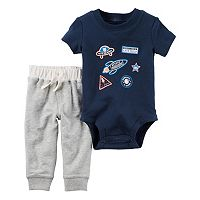 Baby Boy Carter's Space Bodysuit & Pants Set