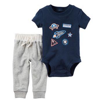 Baby Boy Carter's Space Bodysuit & Pants Set