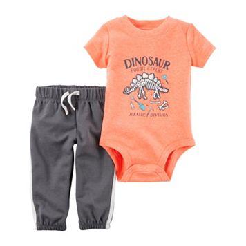 Baby Boy Carter's Dinosaur Bodysuit & Pants Set