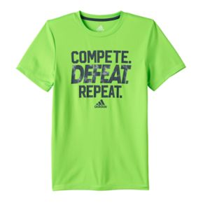 Boys 8-20 adidas Compete. Defeat. Repeat. Tee