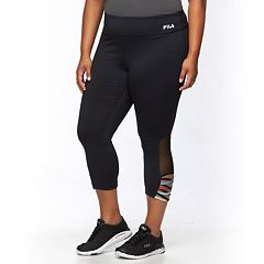 Plus Size FILA SPORT®  Performance Yoga Capris