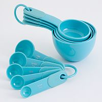 KitchenAid Aqua Sky Measuring Cup & Spoon Set