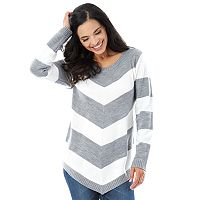 Women's AB Studio Mitered Crewneck Sweater