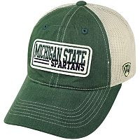Adult Top of the World Michigan State Spartans Patches Adjustable Cap