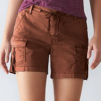 Women's SONOMA Goods for Life™ Twill Utility Shorts