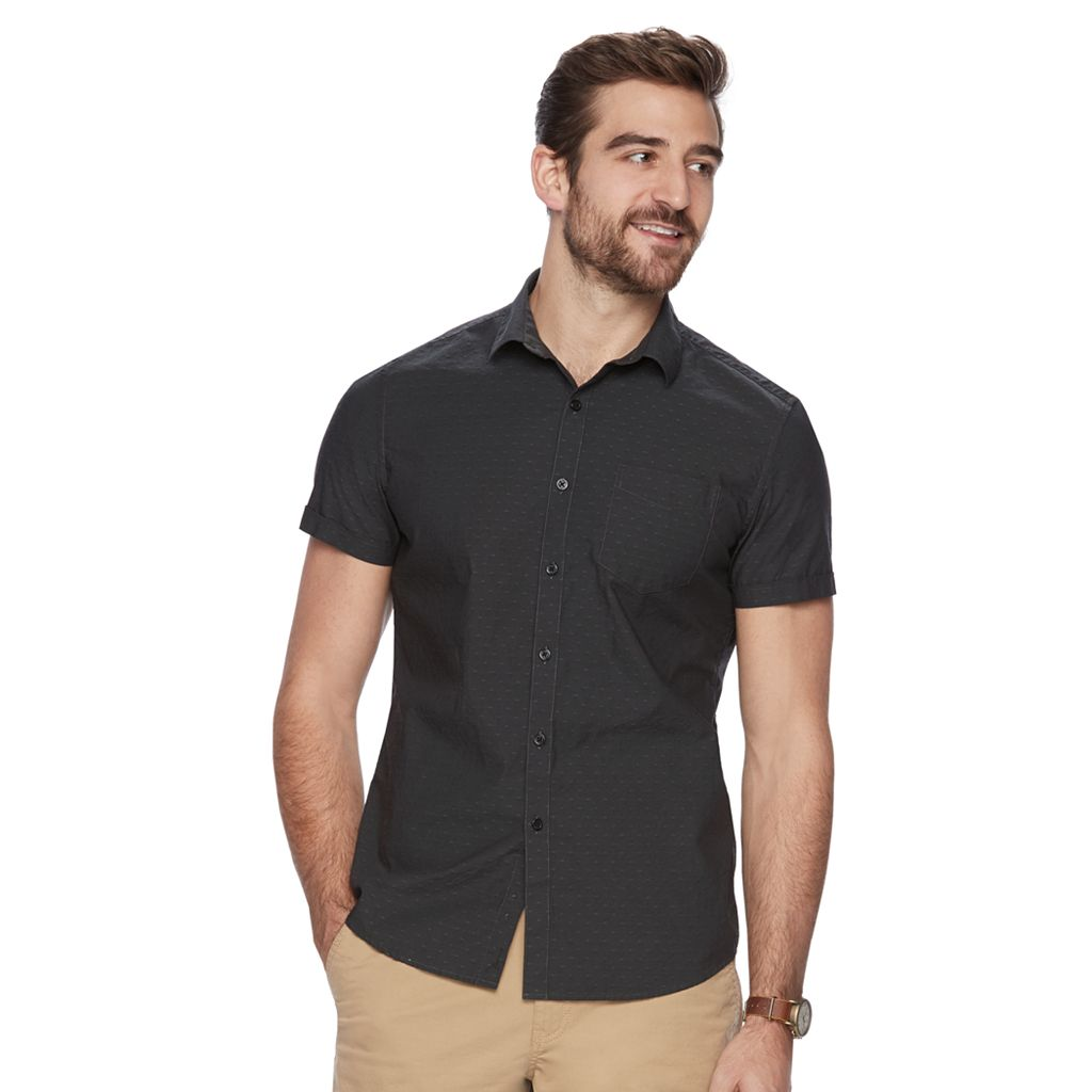 Men's Marc Anthony Slim-Fit Pattern Shirt