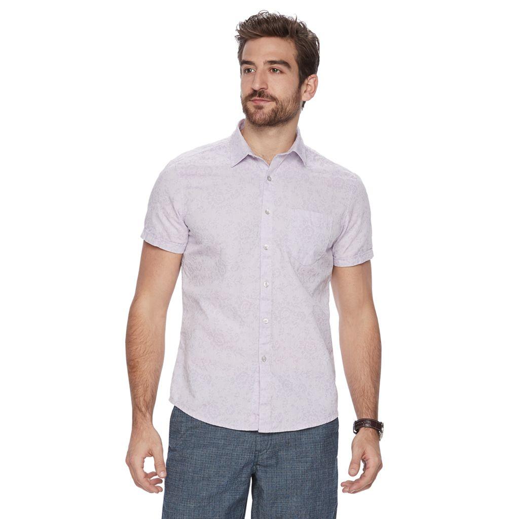 Men's Marc Anthony Slim-Fit Pattern Shirt