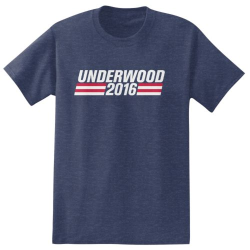 """Big & Tall House of Cards """"Underwood 2016"""" Tee"""