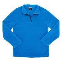 Toddler Boy French Toast 1/4-Zip Fleece Pullover