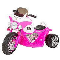 Lil' Rider Mini Three Wheel Police Chopper Ride-On