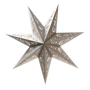LumaBase 7-Point Star Paper Lantern 3-piece Set