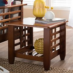 Baxton Studio Larissa End Table