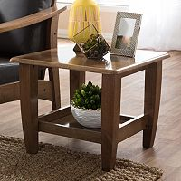 Baxton Studio Pierce End Table