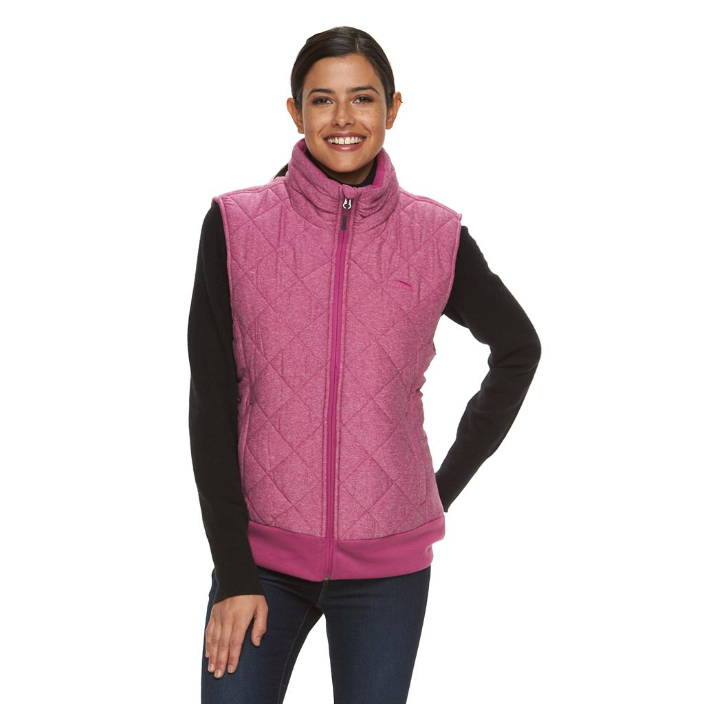 Women's High Sierra Lynn Quilted Insulated Bomber Vest