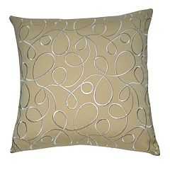 Loom and Mill Scallop Scroll Throw Pillow