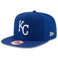 Adult New Era Kansas City Royals 9FIFTY Shine Through Snapback Cap