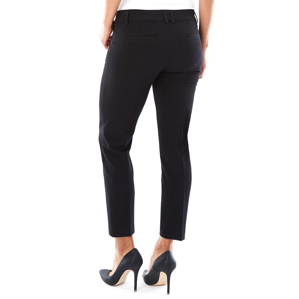 Women's AB Studio Slimming Skinny Ankle Dress Pants