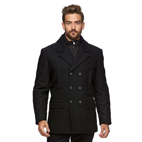 Marc Anthony Wool-Blend Peacoat