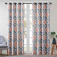 Madison Park Mika Ikat Curtain