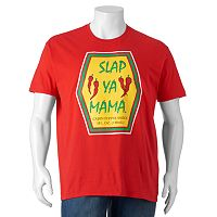 Big & Tall Slap Ya Mama Cajun Seasoning Sauce Tee