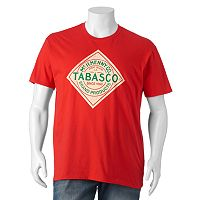 Big & Tall Tabasco Sauce Logo Tee
