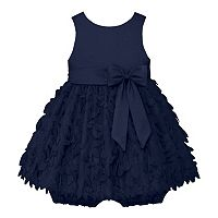 Baby Girl American Princess Satin Petal Dress