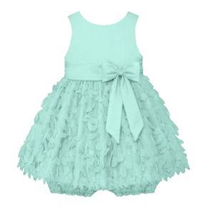 Baby Girl American Princess Satin Petal Dress