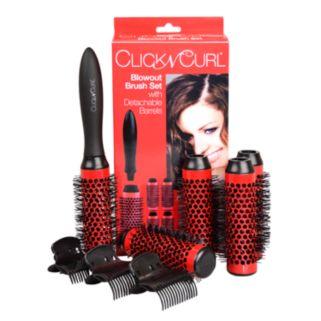 Click n Curl Blowout Brush Set with Detachable Barrels - Small