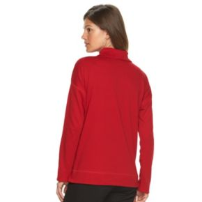 Women's Chaps Solid Pullover