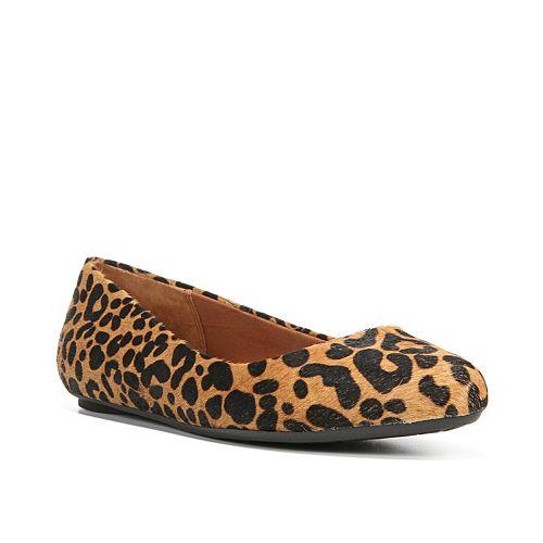 Dr. Scholl's Really Women's Leopard Print Ballet Flats