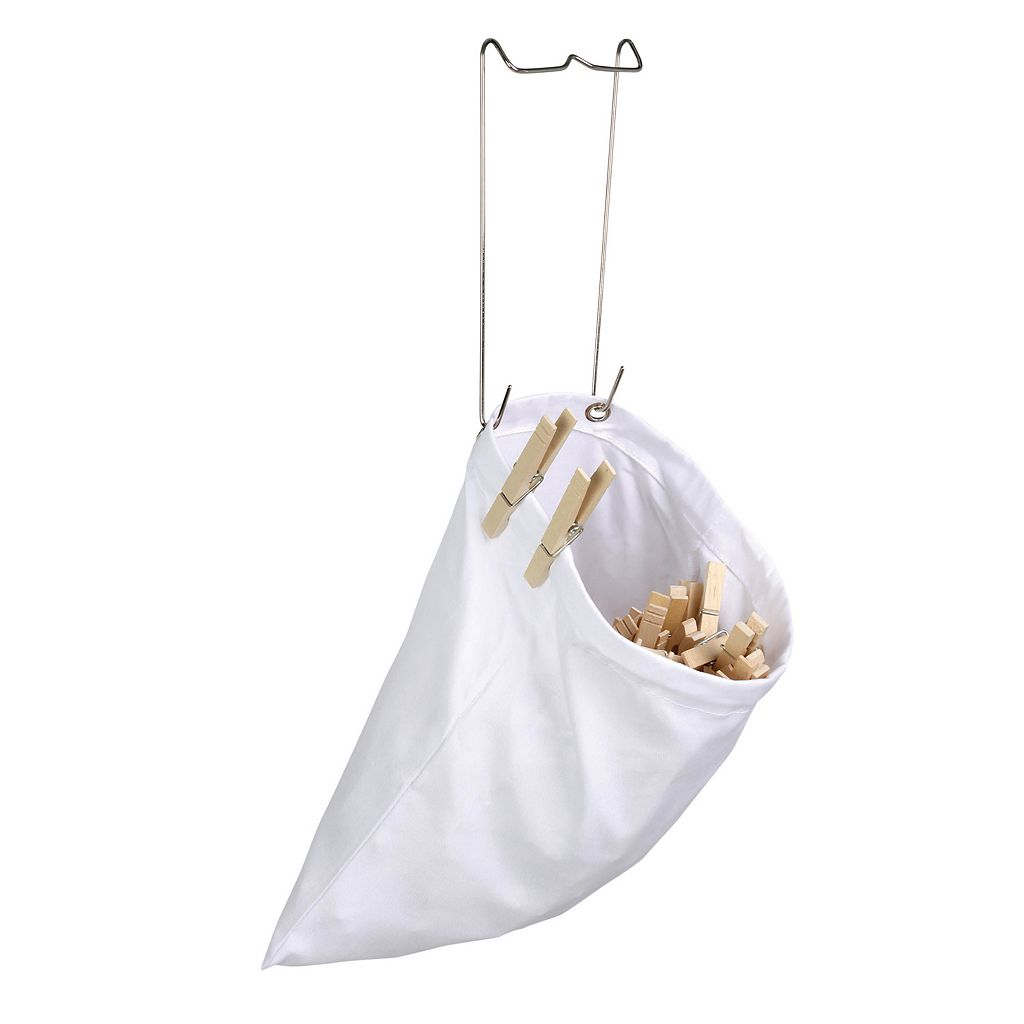 Honey-Can-Do 2-pack Clothespin Bag