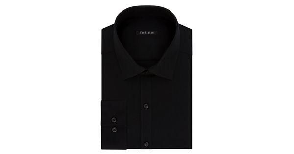 Men 39 s van heusen flex collar slim fit pincord dress shirt for Van heusen men s regular fit pincord dress shirt