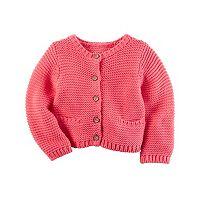 Baby Girl Carter's Textured Knit Cardigan