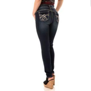 Juniors' Wallflower Luscious Curvy Skinny Jeans