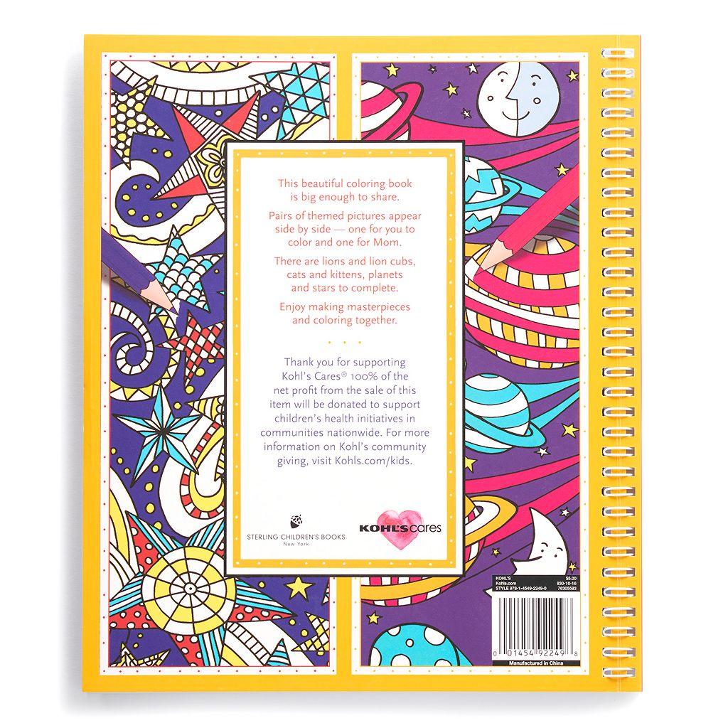 Kohls CaresR Color With Mom Coloring Book