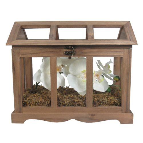 SONOMA Goods for Life™ Artificial Orchid & Moss Terrarium Table Decor