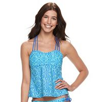 Juniors' Malibu Tribal Tankini Top